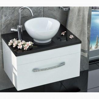 Мебель комплекты для ванной комнаты тумба с умывальником и столешницей литой камень мрамор