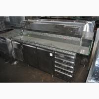 Стол холодильный б/у для пиццы 2 двери 5 шухляд ELECTROLUX ZBRAV 705