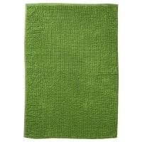 Бархатистый зеленый коврик