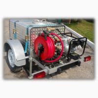 Пожарный модуль(мотопомпа)