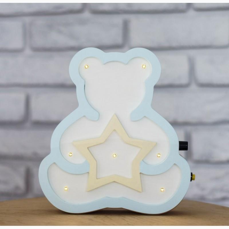 Детский LED светильник Мишка мини