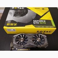 Видеокарта Zotac GeForce GTX 1070