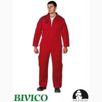Комбинезон летний рабочий Biviko, красный