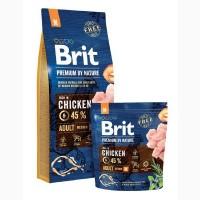 Брит Премиум М сухой корм для собак средних пород Brit Premium Adult M Chicken