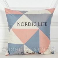 Декоративная наволочка Коллекция Nordic Home