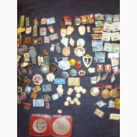 Продаю коллекцию значков различных тематических категорий, времён СССР