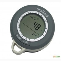 SR108N 8 в 1 Термометр, компас, барометр, высотомер ,часы, календарь,метео-станция + измер