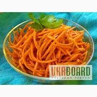 Продаем квашеную капусту Капуста Пелюстками по-корейски Морковь по-корейски