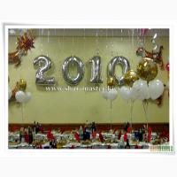Воздушные шары на Новый год Киев, фольгированные шарики, воздушные шары с гелием.