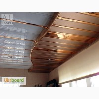 Жаростойкий алюминиевый реечный потолок на кухню