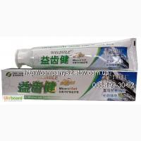 Лечебная натуральная отбеливающая зубная паста с анионами и минеральными солями Тибета