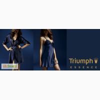 Нижнее белье, шелковые халаты и ниглеже Triumph Essence