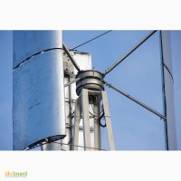 Вертикальный ветрогенератор бесшумный иннерционный, Украина