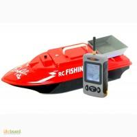 Купить прикормочный кораблик Дельфин-2L c эхолотом lucky ffw 718