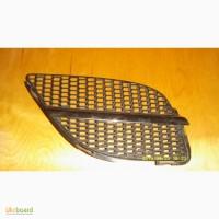 Решетка радиатора правая с хром молдингом 02-06 NISSAN Almera (N16) б/у оригинал