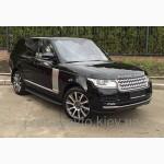 Пороги боковые на Range Rover Vogue 2013