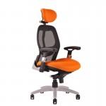 Компьютерные эргономичные кресла SATURN в максимальной комплектации