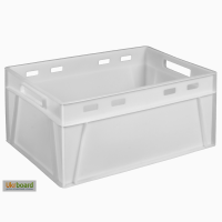 Пищевой пластиковый ящик 600х400х280