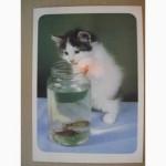 Набор открыток Кошки. Вып.1. 18 шт