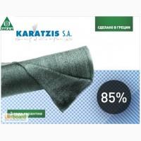 Сетка теневка KARATZIS (Греция) 85% 2х50м, 4х50м, 6х50м, 8х50м