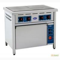 Плита электрическая промышленная 4-х конфорочная с духовкой ПЭД-4