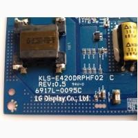 Инвертор 6917L-0095C KLS-E420DRPHF02 C LG 42LM340T