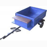 Купить прицеп для мотоблока (самосвал) с колёсами