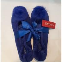 Удобные синие комнатные балетки, yamamay, италия, 39-40