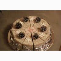 Отличный торт-сюрприз! Бумажный торт! В каждый кусочек можно сложить пожелания с подарком
