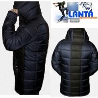 Мужская зимняя куртка удлиненная 214