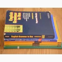 Учебные пособия англ., франц., ПБДД б/у