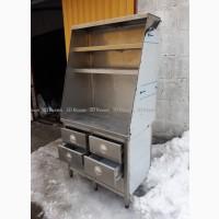Шкаф-тумба из нержавеющей стали (нержавейки) б/у с выдвижными ящиками