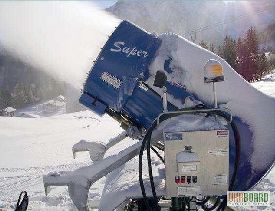 Пушка для искусственного снега своими руками