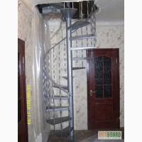 Лестницы винтовые, маршевые, прямые