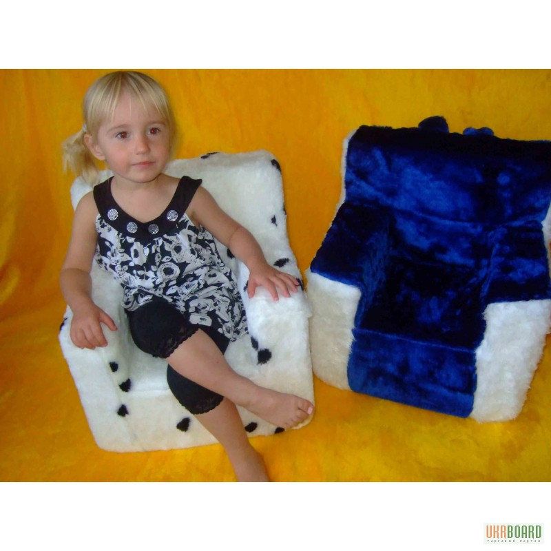 Детское кресло мягкое своими руками фото