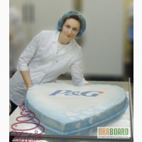 Корпоративный торт на заказ