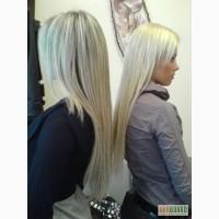 Нарашивание волос le Cristal de Paris