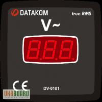 DATAKOM DV-0101 цифровой вольтметр True RMS