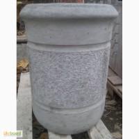 Урна бетонная уличная, круглая.