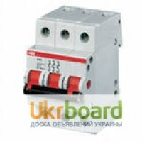 Выключатели-разъединители General Electric, ETI, ABB, ИЭК, АСКО Одесса