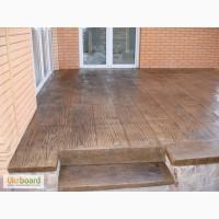 Штампованный (декоративный) бетон