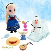 Эльза мини кукла аниматор с набором игрушек