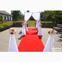 Декор для выездной церемонии, оформление церкви для венчания