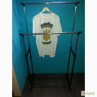 Держатель одежды (вешалка-стойка) двойной