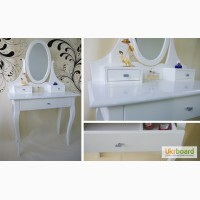 Giga Style - мебель из 100% дерева от производителя, гарантия. Туалетный столик с зеркалом