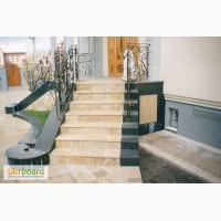 Лестницы с натурального камня