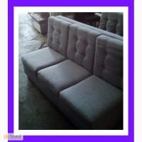 БУ дивани для бару із сірої тканини