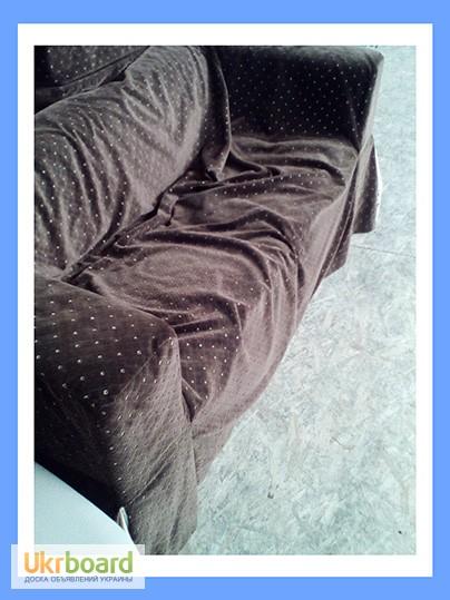 Фото 2. Бу диван с чехлом. Бу диваны для ресторанов. Бу мягкая мебель