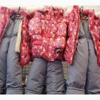 Детские зимние комбинезоны Китти для девочек 2-5 лет