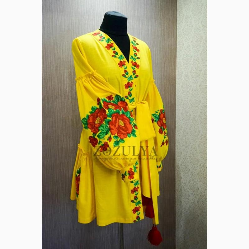 Продам вишите плаття з льону бохо 41eb346087fb3